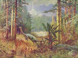 An early reconstruction of a Mesozoic landscape