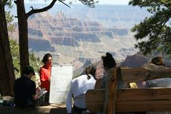 Class at the Grand Canyon
