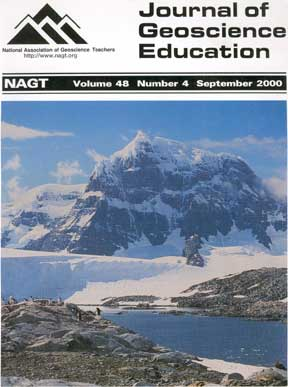 Cover of Sept 2000 JGE issue