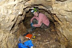 Dianne Piper at Mammoth Cave - Summer 2006