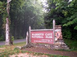 Mammoth Cave National Park Entrance