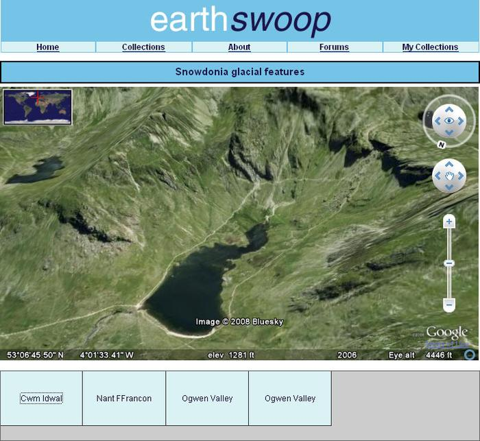 EarthSwoop Snowdonia Map
